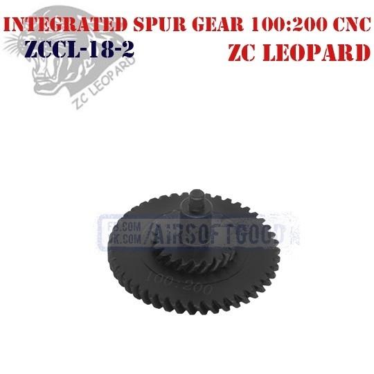 Integrated Spur Gear Torque 100:200 CNC ZC Leopard (ZCCL-18-2)