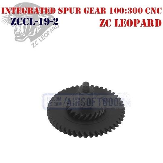 Integrated Spur Gear Ultra Torque 100:300 CNC ZC Leopard (ZCCL-19-2)