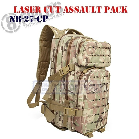 Laser Cut Assault BackPack MULTICAM 8FIELDS (NB-27-CP)