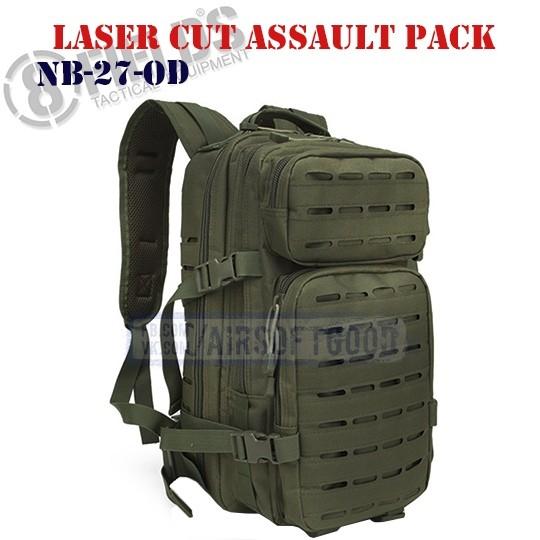 Laser Cut Assault BackPack OD 8FIELDS (NB-27-OD)