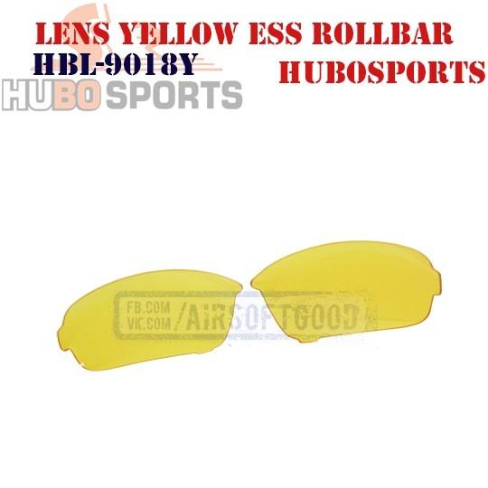 Lens Yellow ESS ROLLBAR HUBOSPORTS (HBL-9018Y)