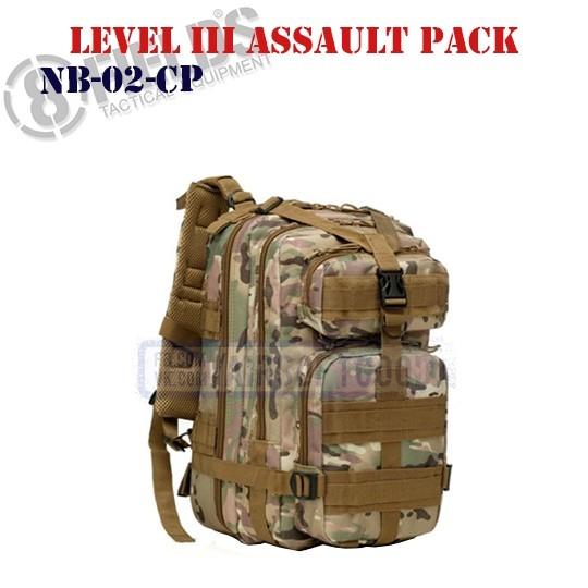 Level III Assault BackPack MULTICAM 8FIELDS (NB-02-CP)