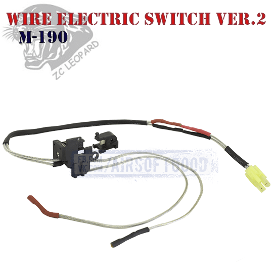 Wire Electric Switch Version 2 Front ZC Leopard (M-190)