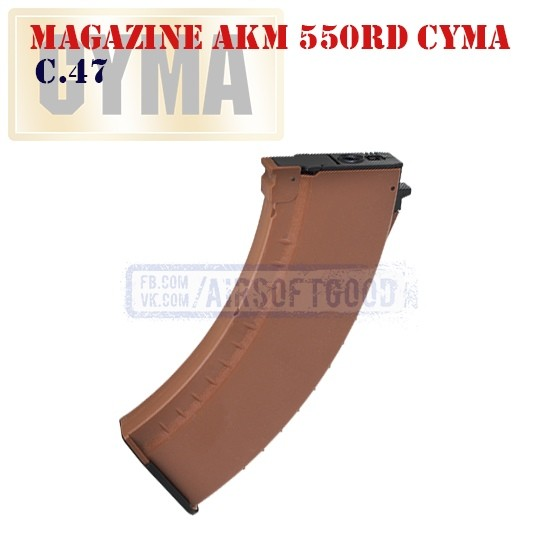 Magazine AKM Orange 550rd CYMA (C.47)