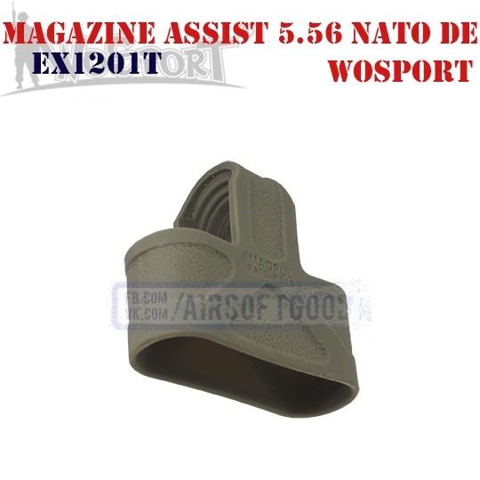 Magazine Assist MAGPUL 5.56 NATO DE WoSporT (EX1201DE)