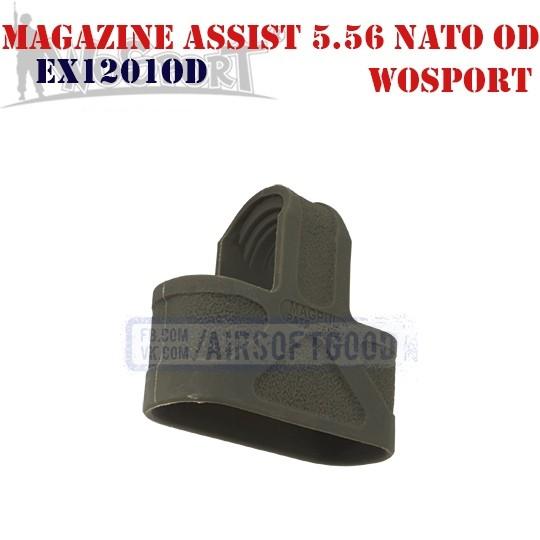 Magazine Assist MAGPUL 5.56 NATO OD WoSporT (EX1201OD)