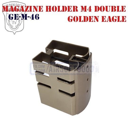 Magazine Holder M4 Double DE Golde Eagle (GE-M-46)