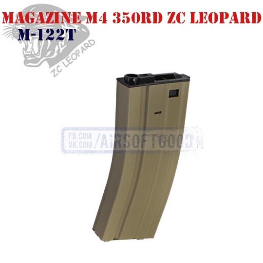 Magazine M4 350rd DE ZC Leopard (M-122T)