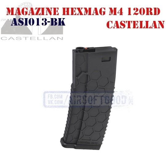 Magazine MagHex M4 AR-15 120rd CASTELLAN (ASI013-BK)