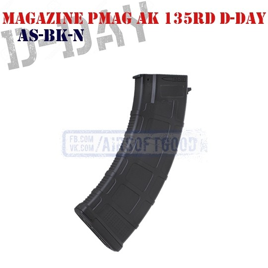Magazine PMAG AK 30/135rd D-Day (AS-BK-N)