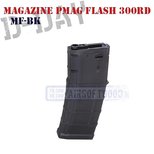 Magazine PMAG GEN3 M4 Flash 300rd D-DAY (MF-BK)