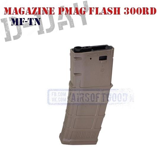 Magazine PMAG GEN3 M4 Flash 300rd FDE D-DAY (MF-TN)