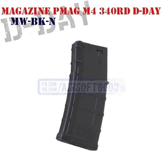 Magazine PMAG M4 340rd D-Day (MW-BK-N)