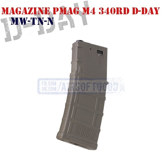 Magazine PMAG M4 340rd D-Day (MW-TN-N)