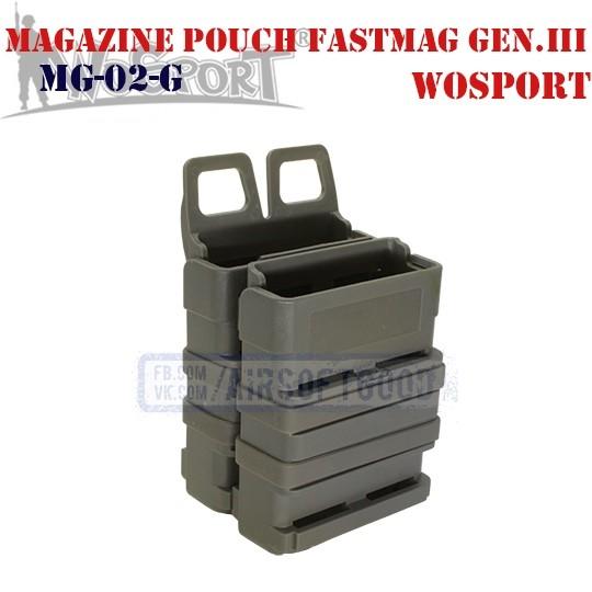 Magazine Pouch FastMag Gen.III Grey WoSporT (MG-02-G)