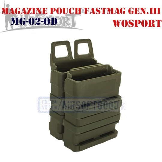 Magazine Pouch FastMag Gen.III Olive WoSporT (MG-02-OD)