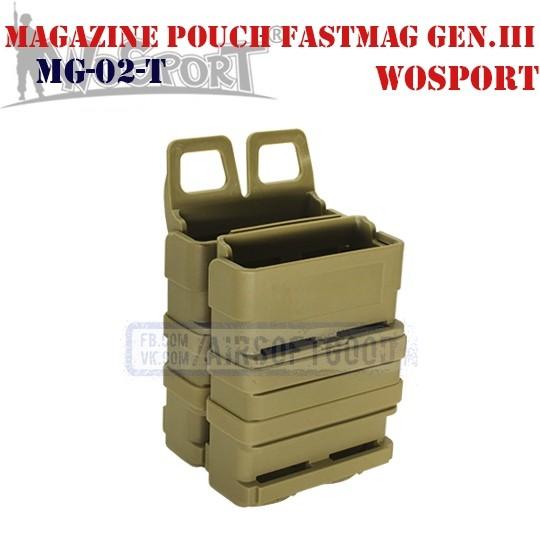 Magazine Pouch FastMag Gen.III TAN WoSporT (MG-02-T)