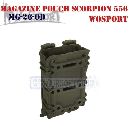 Magazine Pouch Scorpion 556 OD WoSporT (MG-26-OD)