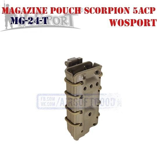 Magazine Pouch Scorpion 5acp TAN WoSporT (MG-24-T)