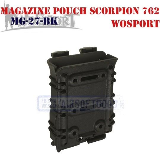 Magazine Pouch Scorpion 762 Black WoSporT (MG-27-BK)