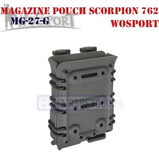 Magazine Pouch Scorpion 762 Grey WoSporT (MG-27-G)
