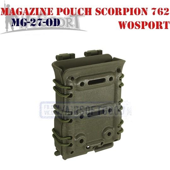 Magazine Pouch Scorpion 762 OD WoSporT (MG-27-OD)