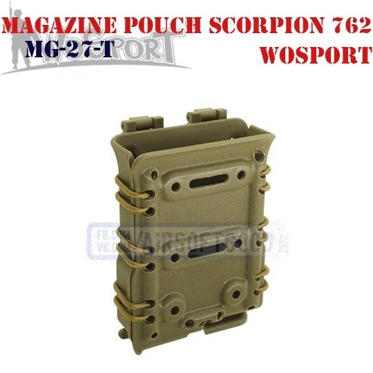Magazine Pouch Scorpion 762 TAN WoSporT (MG-27-T)