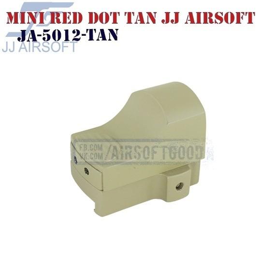 Mini Red Dot TAN JJ Airsoft (JA-5012-TAN)