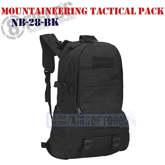 Mountaineering Tactical BackPack Black 8FIELDS (NB-28-BK)