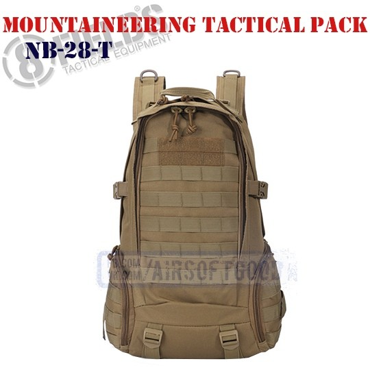 Mountaineering Tactical BackPack TAN 8FIELDS (NB-28-T)