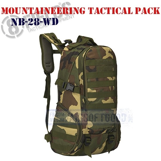 Mountaineering Tactical BackPack Woodland 8FIELDS (NB-28-WD)