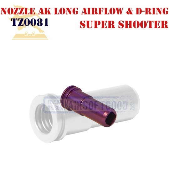 Nozzle AK Long Airflow & Double-Ring Super Shooter (TZ0081)