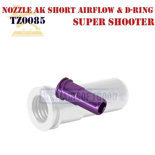 Nozzle AK Short Airflow & Double-Ring Super Shooter (TZ0085)