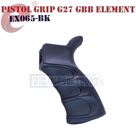 Pistol Grip G27 GBB BK Element (EX065-BK)