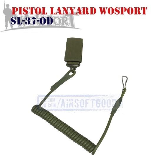 Pistol Lanyard OD WoSporT (SL-37-OD)