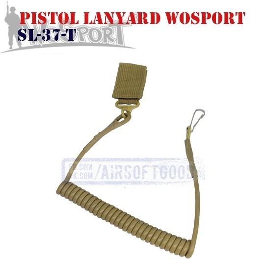 Pistol Lanyard TAN WoSporT (SL-37-T)