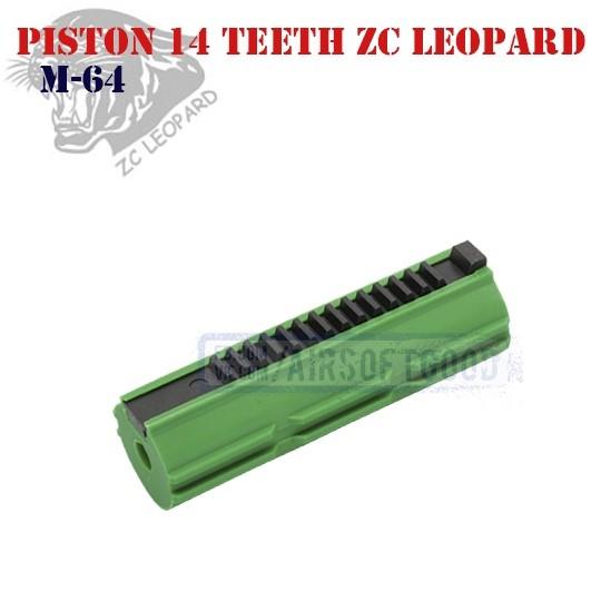 Piston 14 Teeth ZC Leopard (M-64)