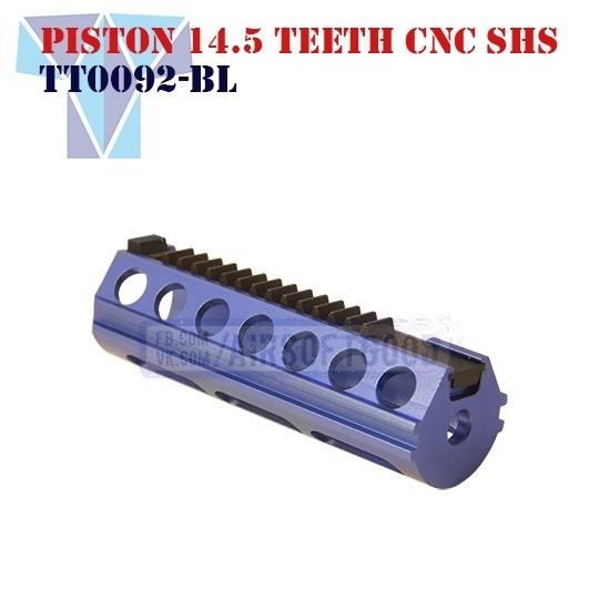 Piston Aluminum 14.5 Teeth CNC SHS (TT0092-BL)