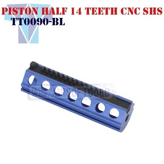 Piston Aluminum Half 14 Teeth CNC SHS (TT0090-BL)