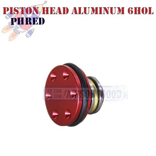 Piston Head Aluminum 6HOL CNC ROCKET (PHRED)