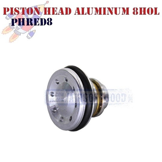 Piston Head Auminum 8HOL ROCKET (PHRED8)
