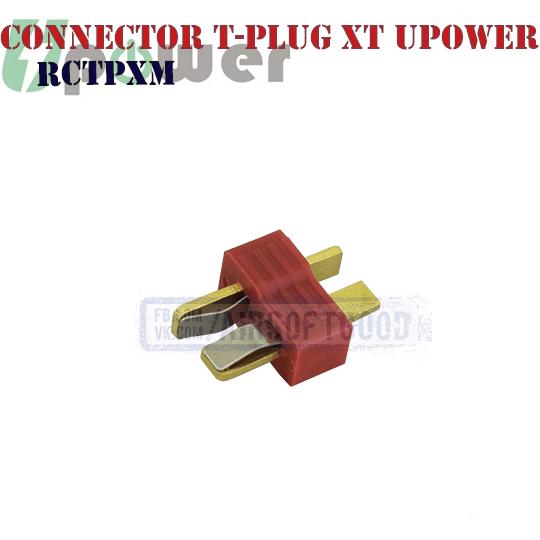 Connector T-plug XT Male UPOWER (RCTPXM) Т коннектор
