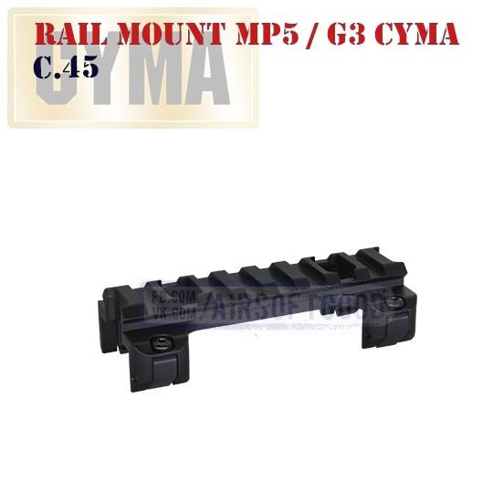 Rail Mount MP5 / G3 CYMA (C.45)