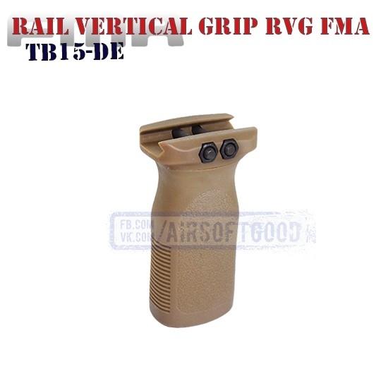 Rail Vertical Grip MAGPUL RVG DE FMA (TB15-DE)
