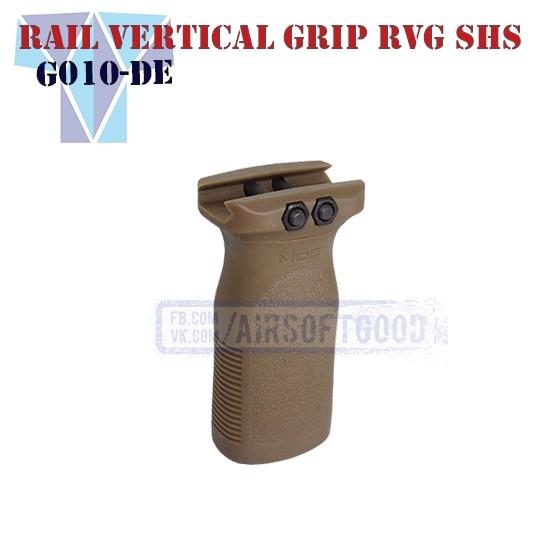 Rail Vertical Grip MAGPUL RVG FDE SHS (G010-DE)