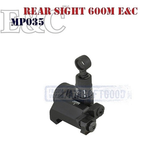 Rear Sight 600m SR-15 SR-16 E&C (MP035)