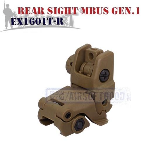 Rear Sight MAGPUL MBUS Gen.1 TAN WoSporT (EX1601T-R)