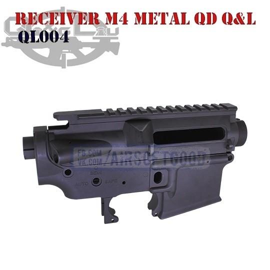 Receiver M4 Metal QD Q&L (QL004)
