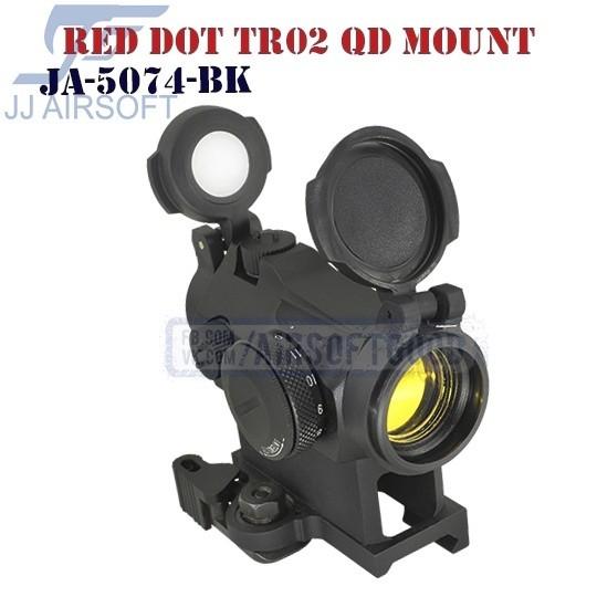 Red Dot TR02 QD Mount JJ Airsoft (JA-5074-BK)