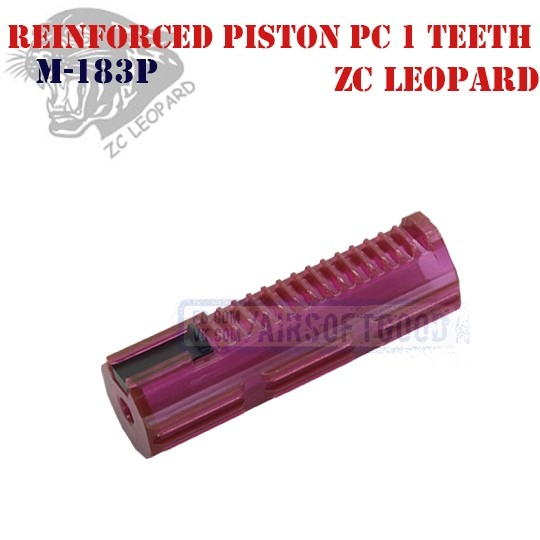 Reinforced Piston Policarbonate 1 Teeth ZC Leopard (M-183P)